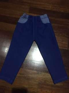 Blue pants for babies