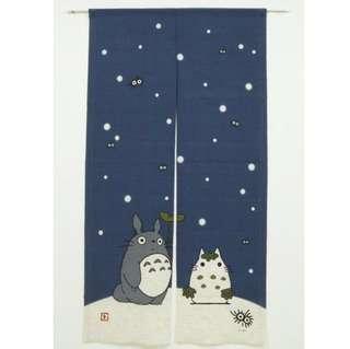 Totoro Door Curtain