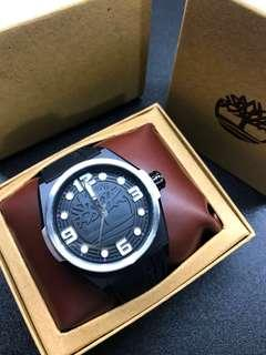 🚚 Timberland black classic watch