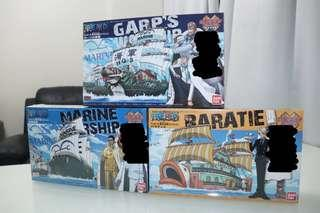 🚚 One Piece Grand Ship Collection Bundle of 3