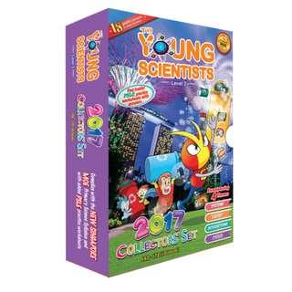 Young Scientists (L3 & L4) and Smart Mathematicians (Lower Pri) 2017 collector set (Brand New)