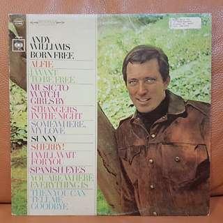 Andy Williams - Born Free Vinyl Record