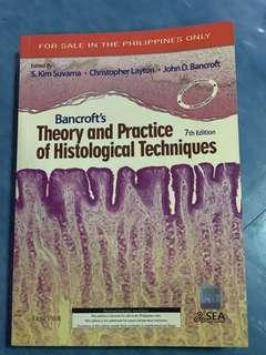 Theory and practice of histological techniques bancroft's 7th edition