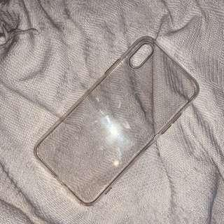 iPhone X or Xs Clear Case