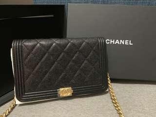 Boy Chanel Wallet on chain bag