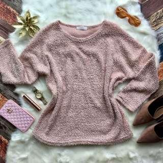 Sweater dusty pink top