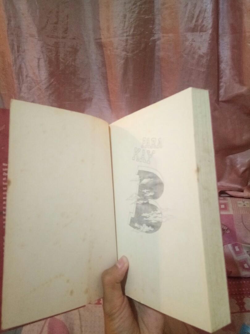 2 Books: Ricky Lee's Amapola sa 65 na kabanata at Para Kay B