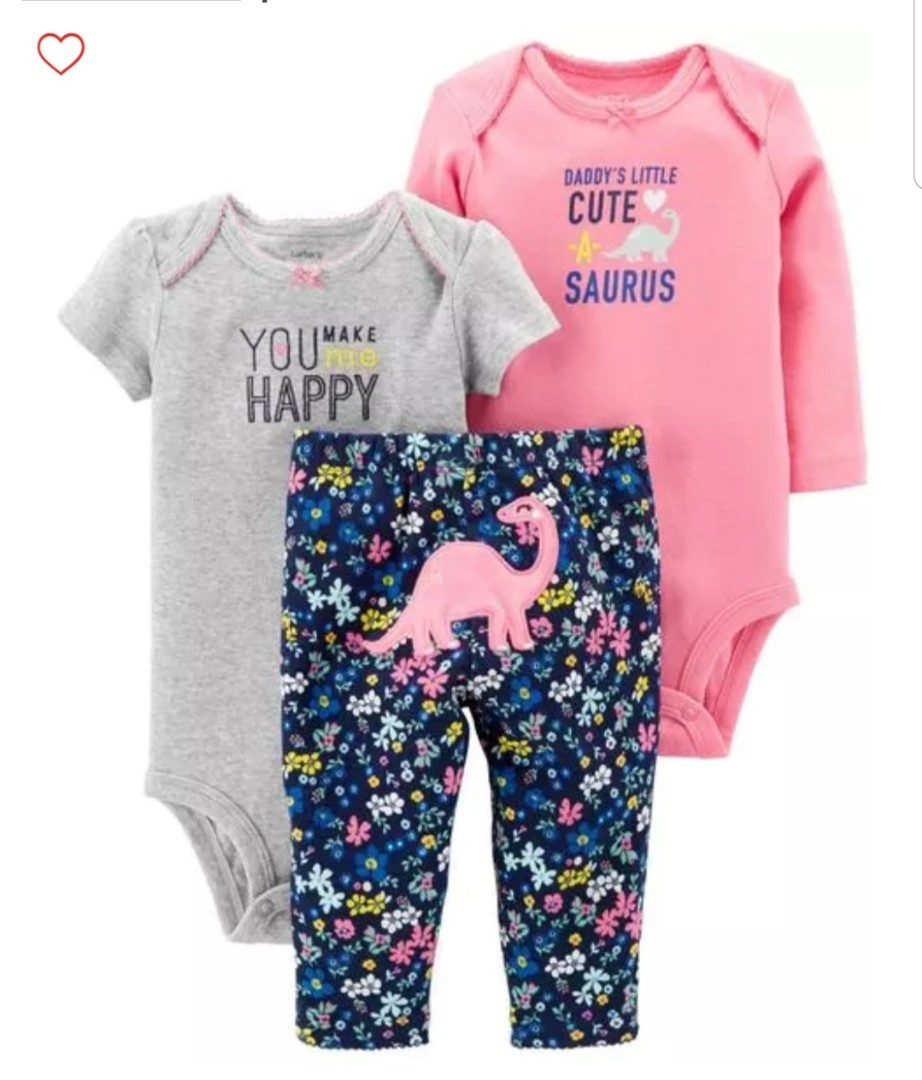 ff1941df17e 6M   12M  Brand New Carter s 3-Piece Little Character Set For Baby ...
