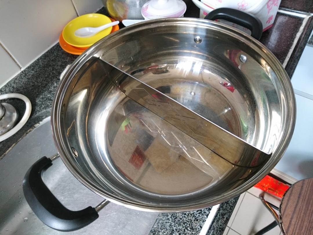 二手 豐澤牌 電磁爐 連兩邊火鍋煲 連蓋