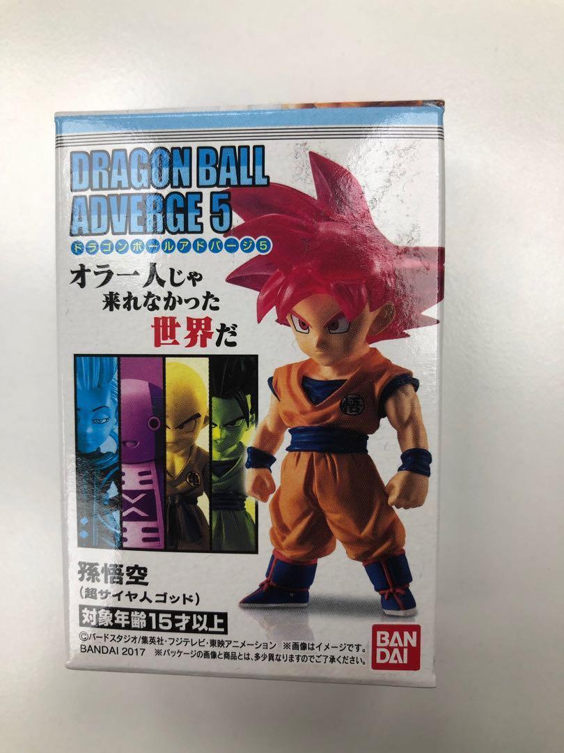 日版 龍珠 孫悟空 紅神 紅髮 悟空 盒蛋 Dragon Ball Super Z Adverge 5