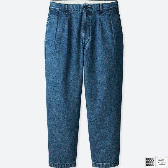收購 Uniqlo U 打褶 牛仔褲
