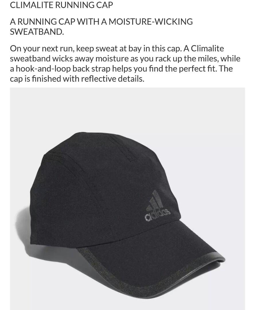 9d8efafc740 Adidas Climalite Cap (BN with Tag)