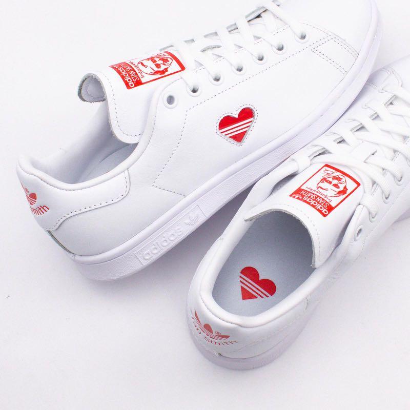 68731e579 Adidas UK 4 Valentine s Day Stan Smith