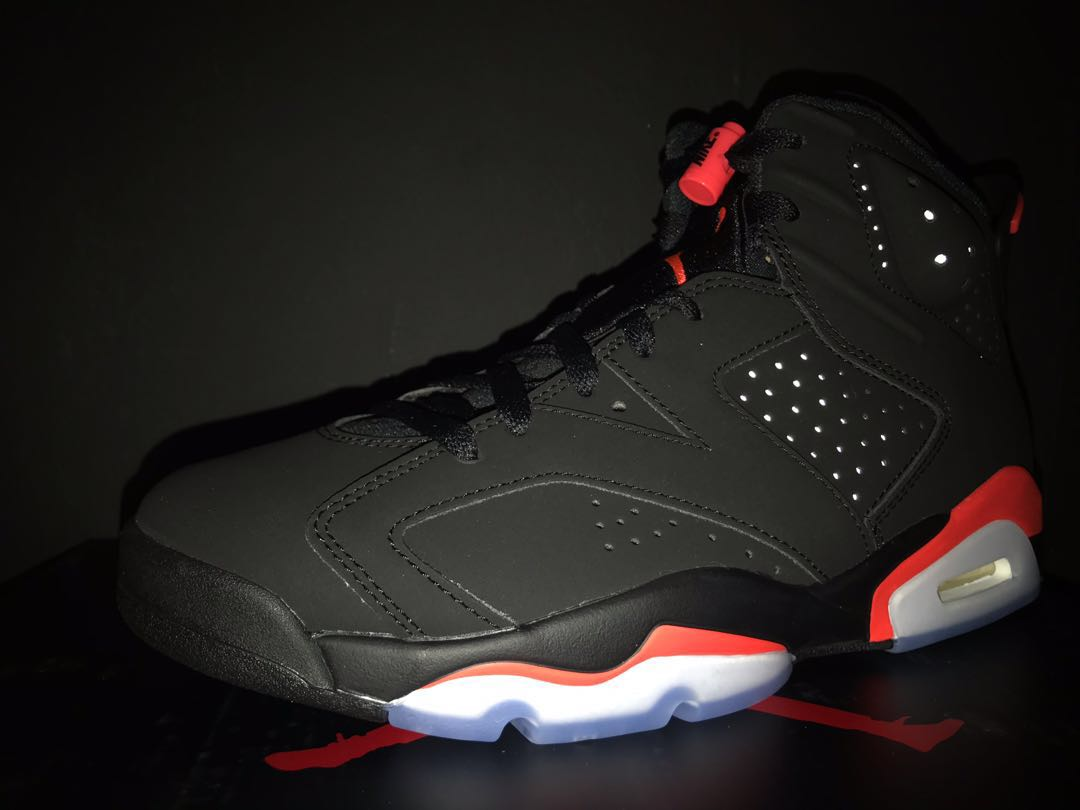 b852575549489a Air Jordan 6 Infrared OG Size US9.5