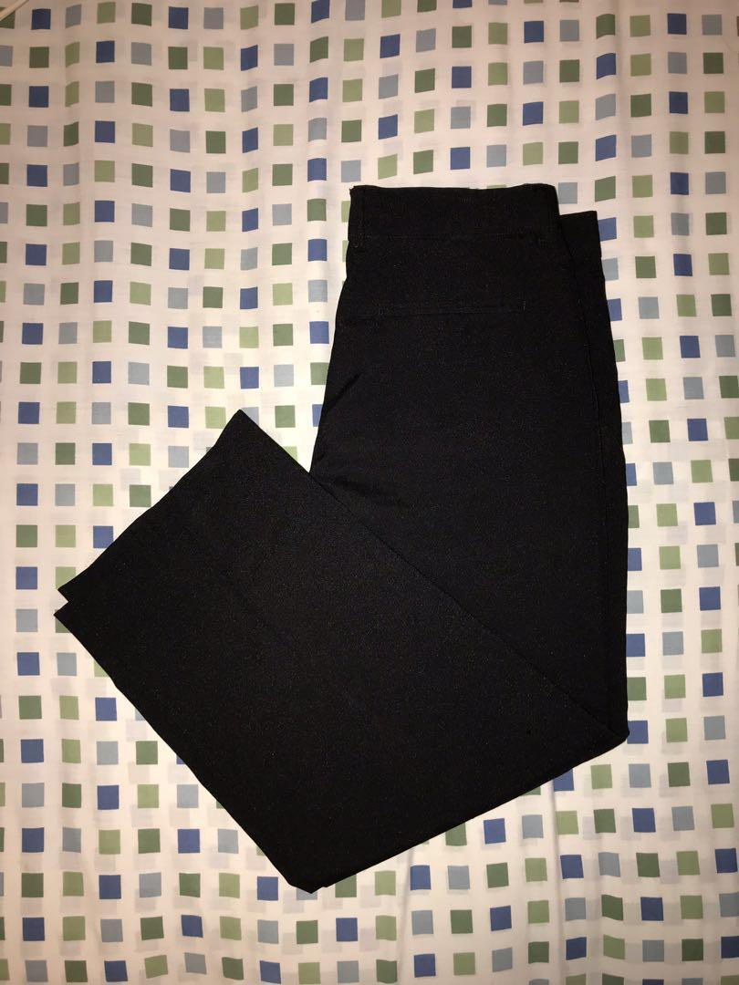 basic black dress pants