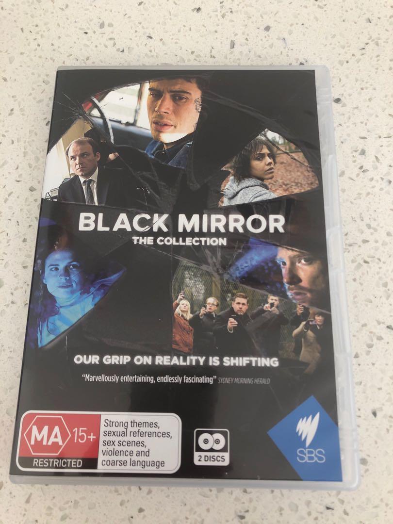 Black Mirror Season 1 DVD