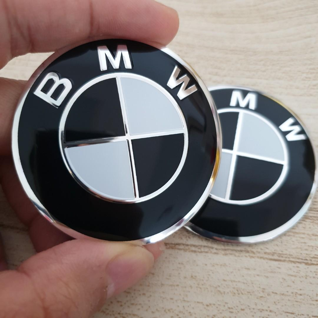 Bmw Black Emblem Motorcycles Motorcycle Accessories On Carousell