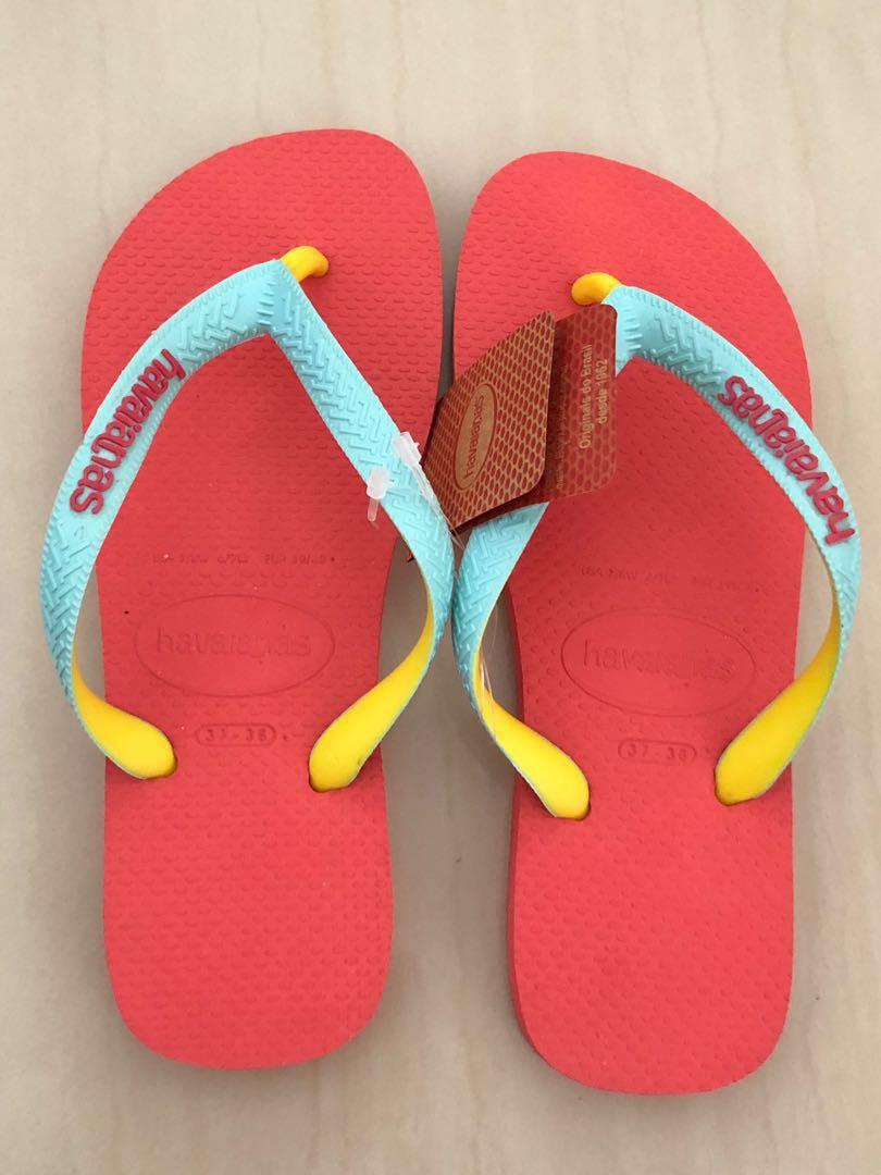 3e9fffb2880f9d Brand new AUTHENTIC Havaianas Slippers (Brazil size  37 38)