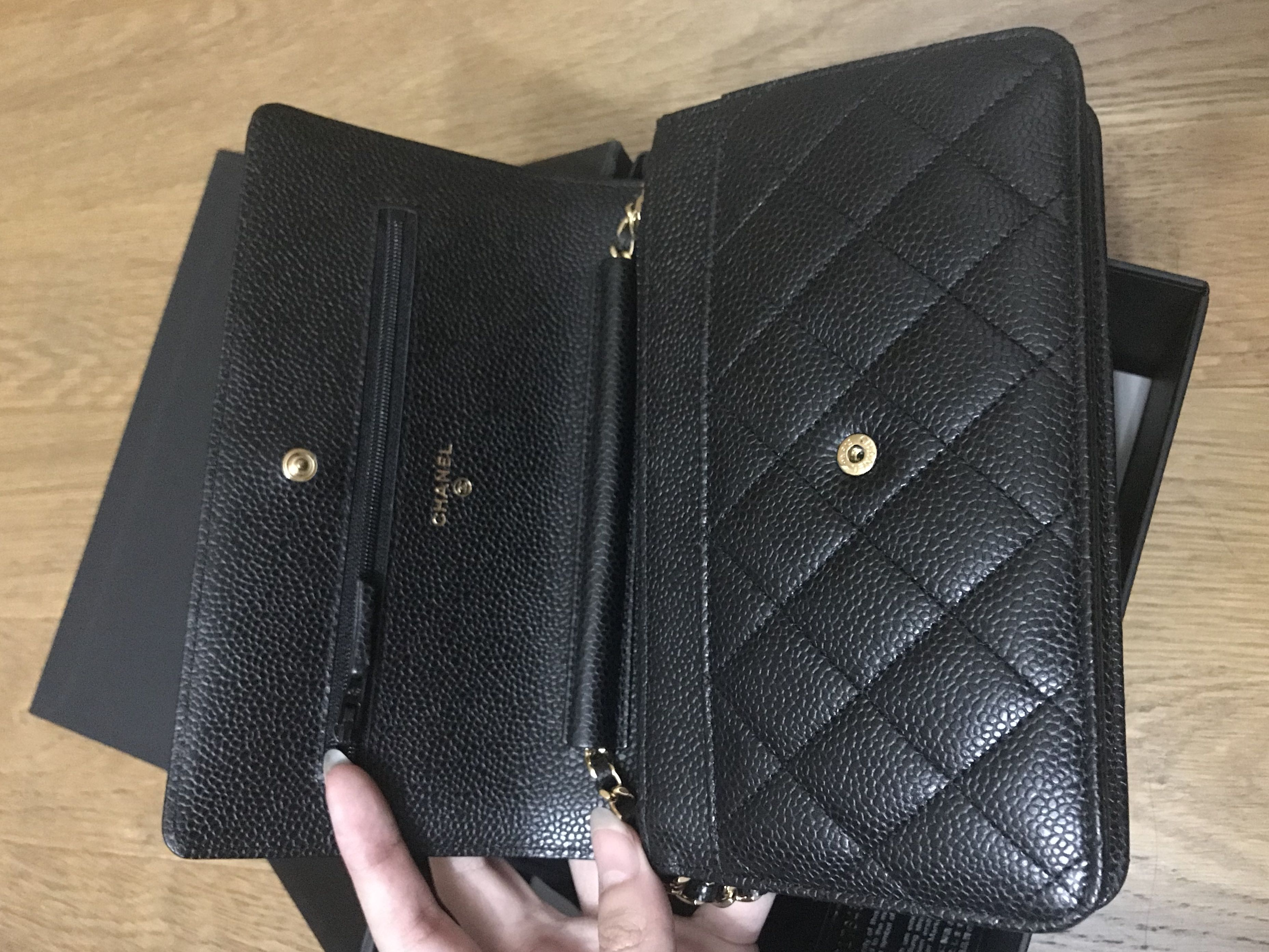 276a88c58248cf 💖Brand New💖Chanel Classic Woc Black Caviar Ghw #25, Luxury, Bags &  Wallets, Handbags on Carousell
