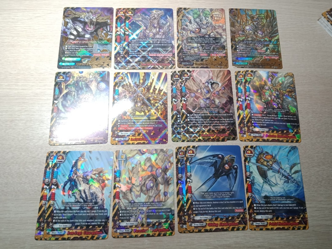 Buddyfight otk/ftk duel gollum incomplete deck