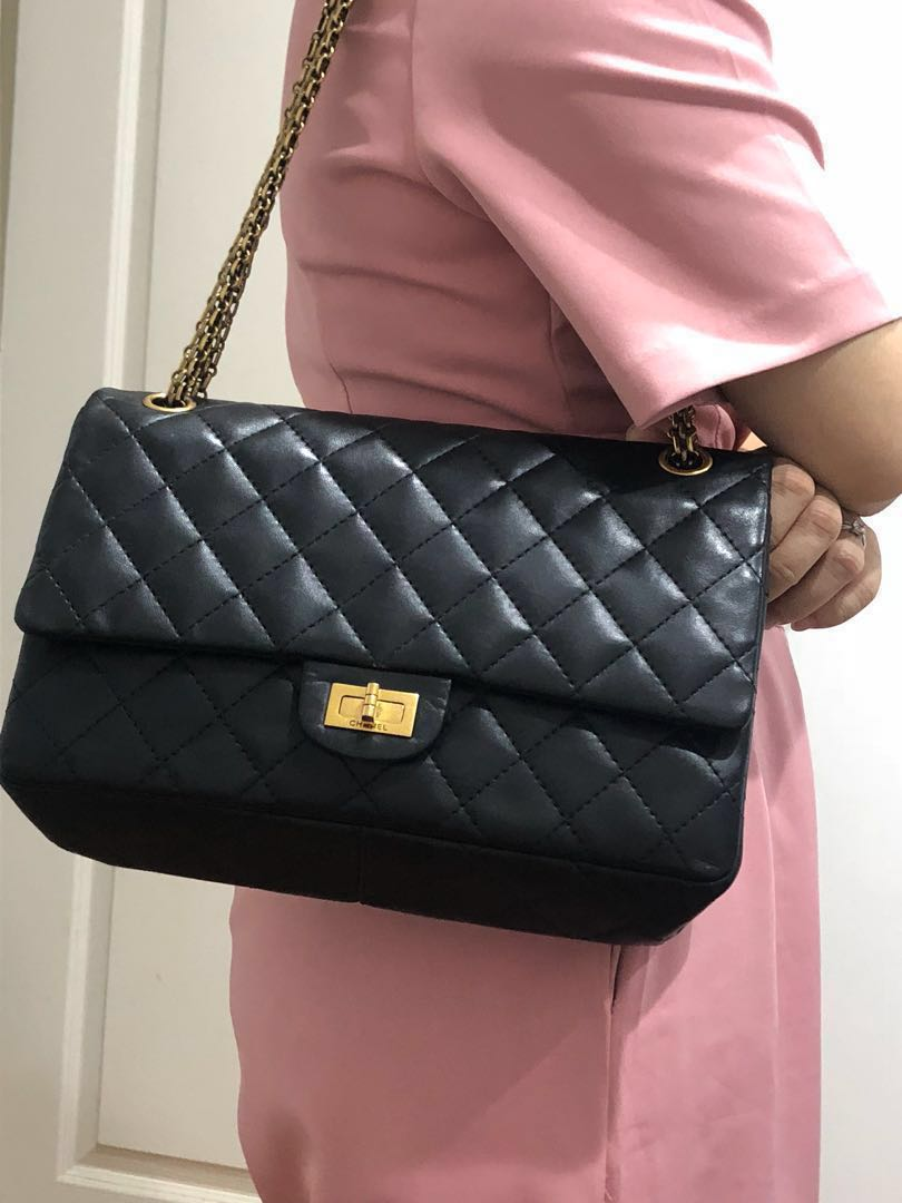 7b00ff9fc88f Chanel 2.55 reissue quilted classic calfskin leather medium, Luxury ...