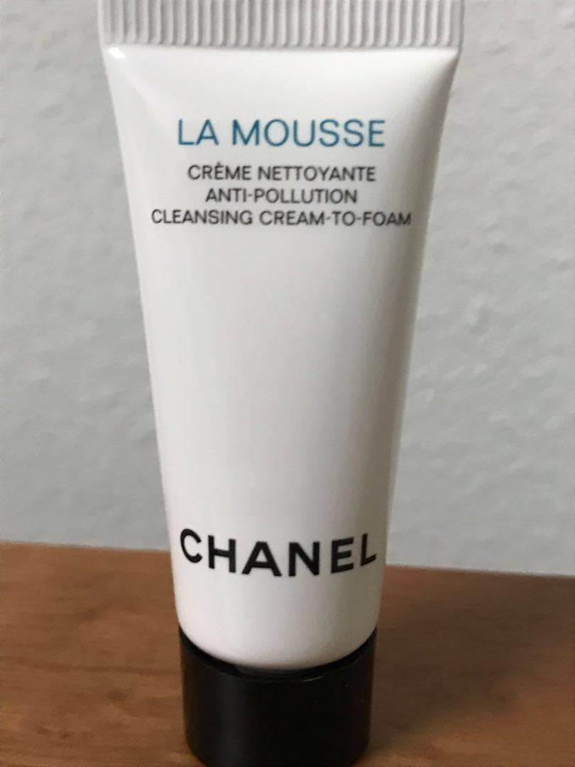 8d2ff0a8 Chanel la mousse anti pollution cleansing cream to foam, Health ...