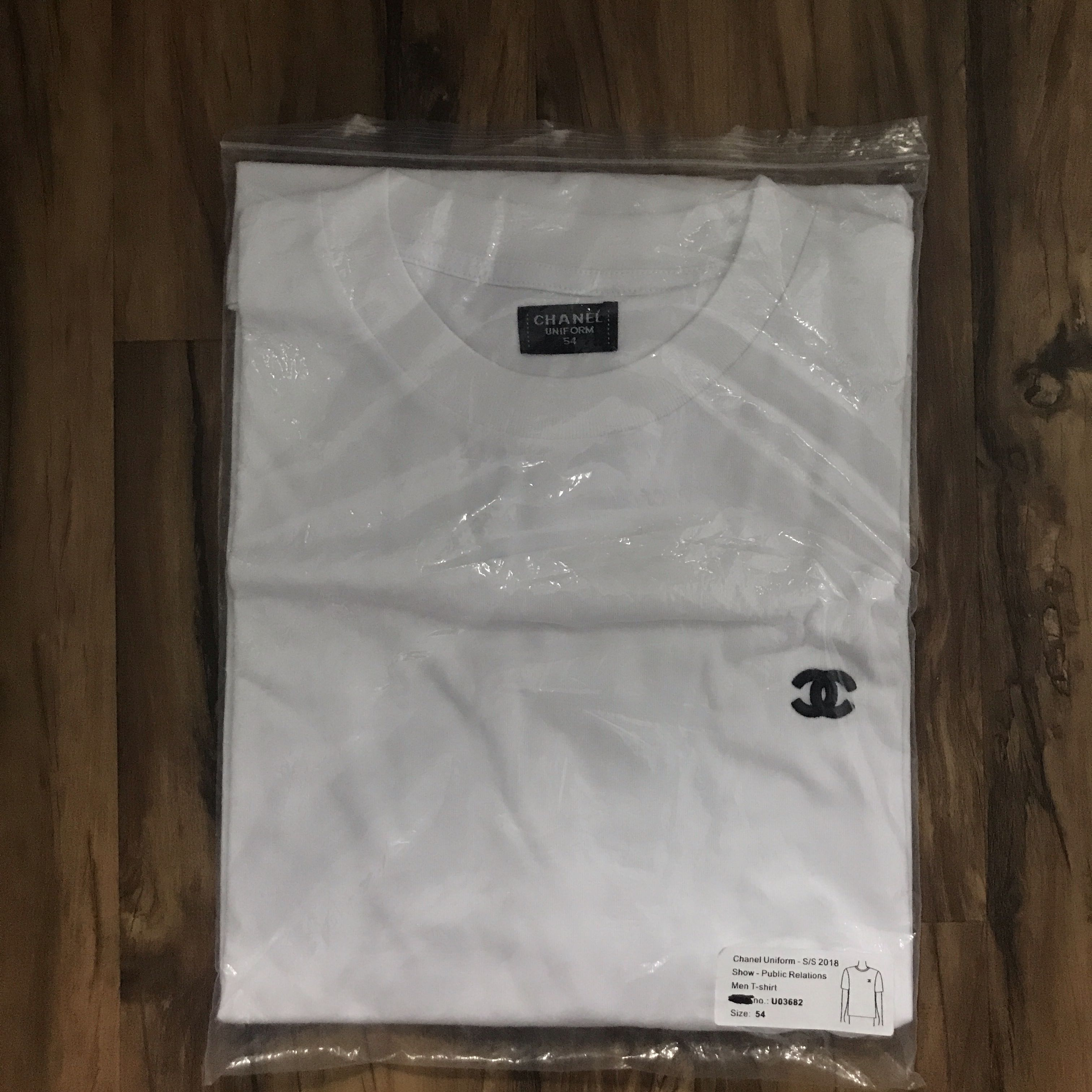 0484f36a9ca0 Chanel Uniform SS18 Show PR tee, Men's Fashion, Clothes, Tops on Carousell