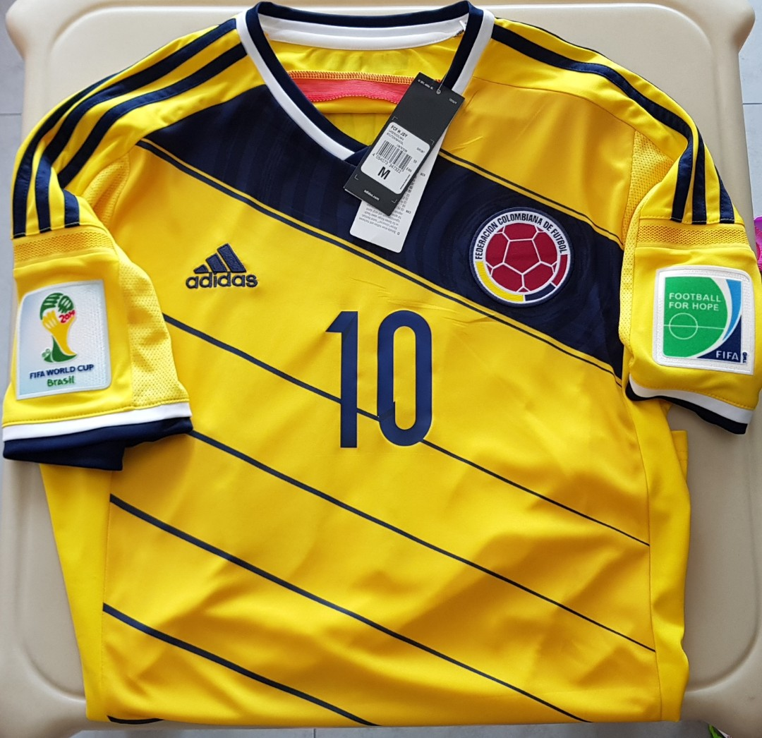 a2ed70e7ba5 Colombia Home Jersey (James), Sports, Sports Apparel on Carousell