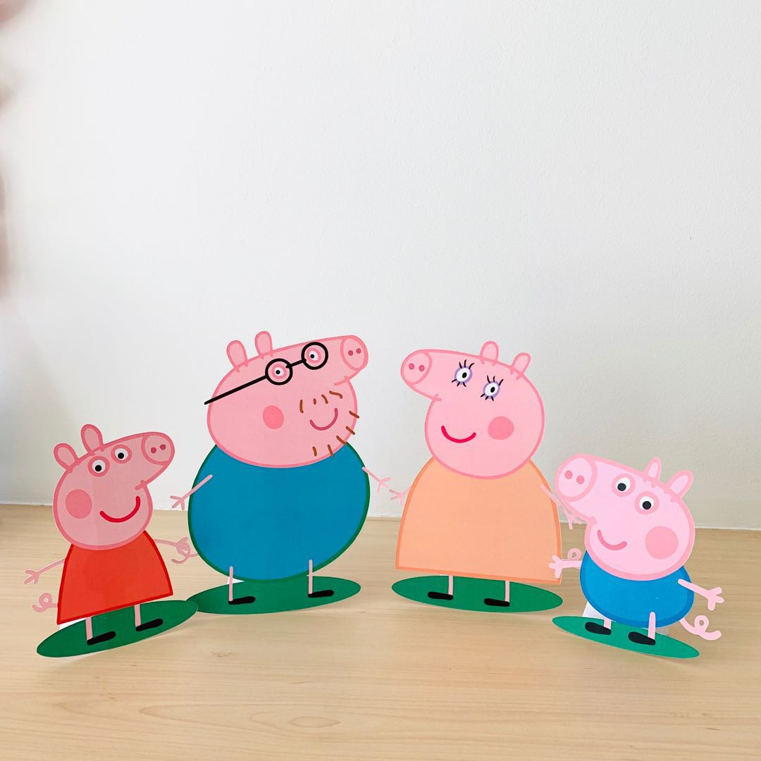 Customised Peppa Pig Party Items Design Craft Others On Carousell