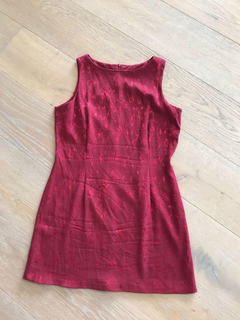 Cute 90s Mini Dress