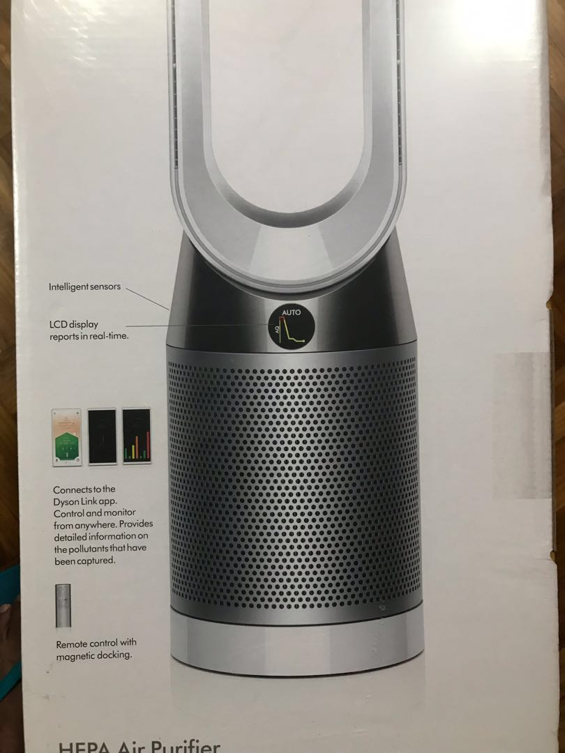 Dyson Pure Cool purifying tower fan TP04 - Silver/White