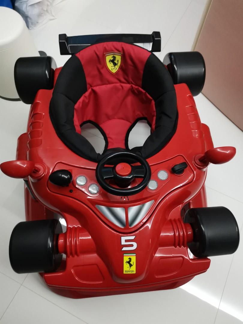 5 In 1 Ferrari Walker 100 Original Babies Kids Toys Walkers
