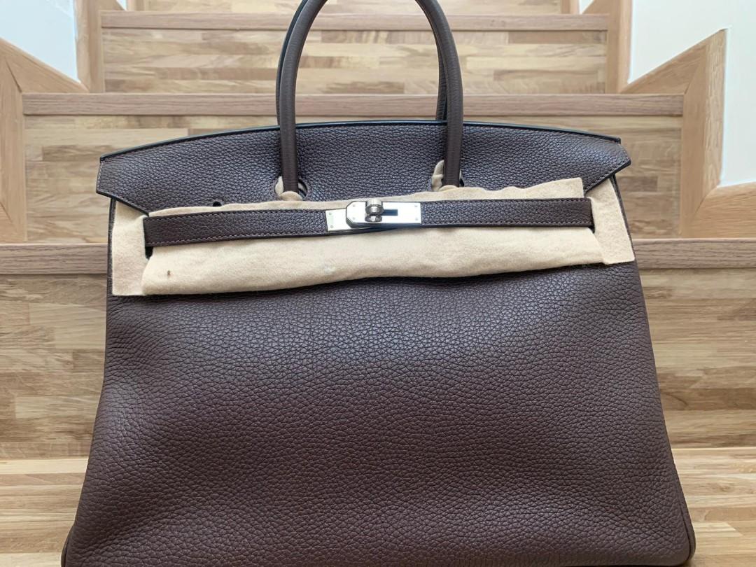 5708f9a72459 Hermes Birkin 35 - Chocolate