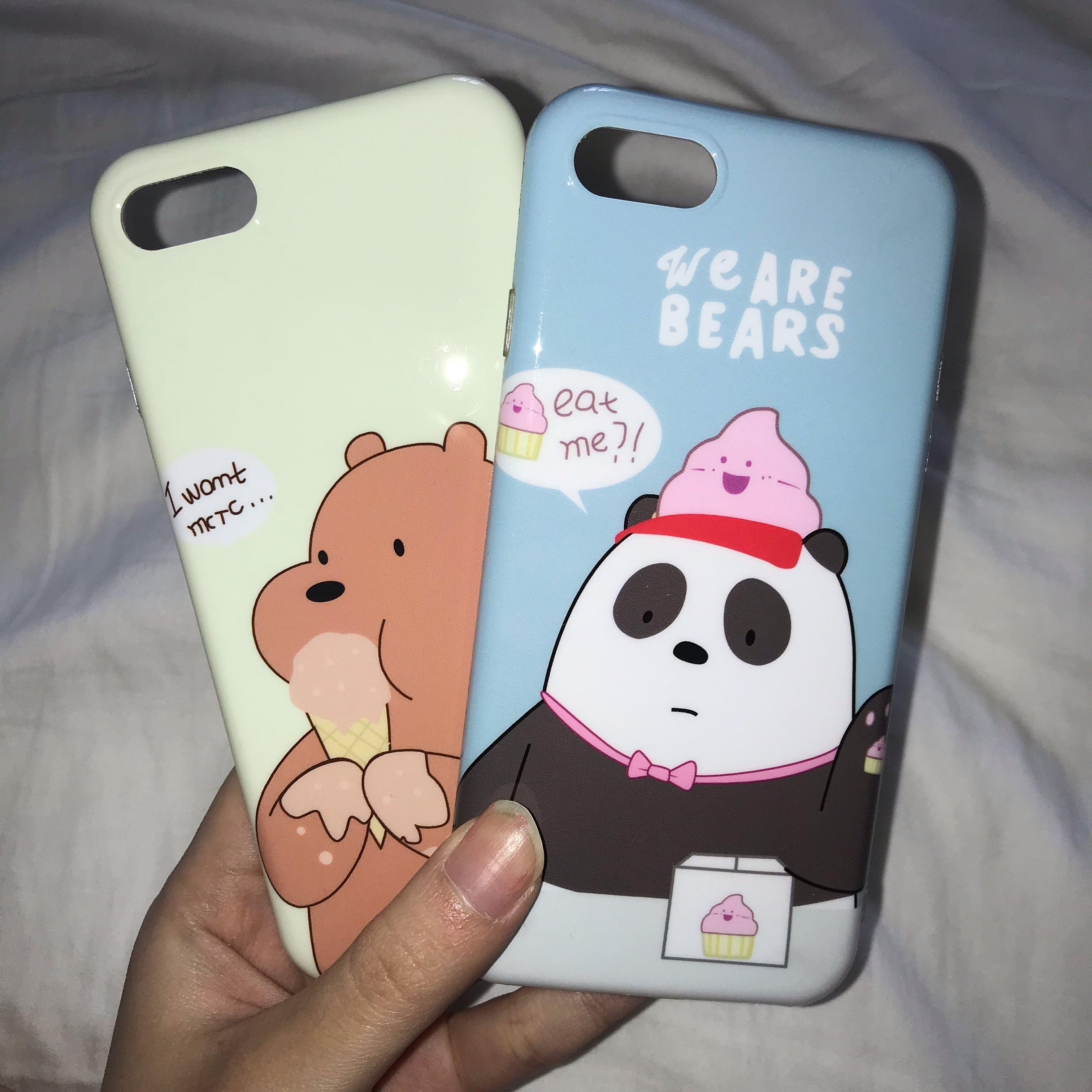 iphone 7 we bare bears cases