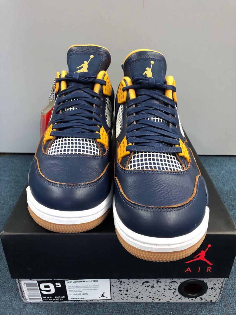 best sneakers d7d6c 52a08 Jordan 4 Dunk from above