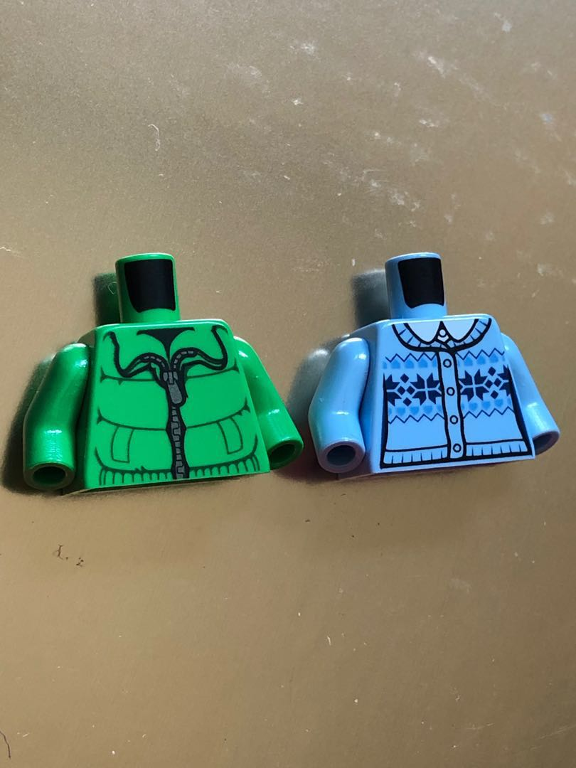 Lego minifigure city creator winter coat brand new sales
