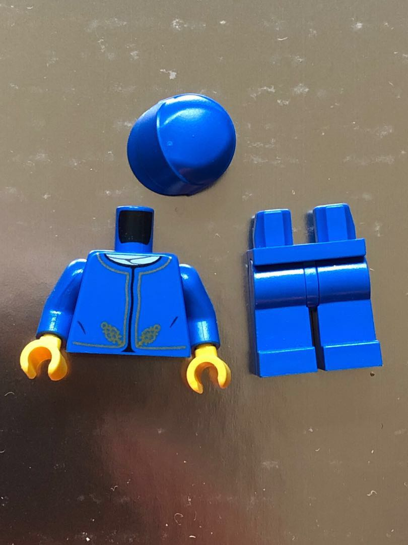 LEGO minifigure minifig creator city butler uniform  💰free local mail  movie 2