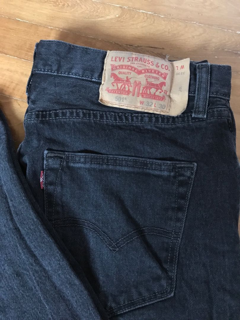 5900ce92 Levi's 501 Jeans, Men's Fashion, Clothes, Bottoms on Carousell