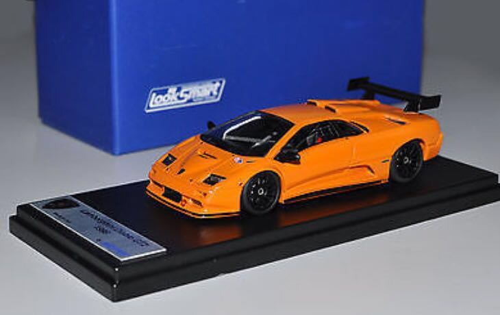 Looksmart Ls163a 1 43 1998 Lamborghini Diablo Gt2 Handmade Resin Model Car