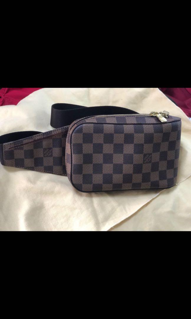 f695c000769a Louis Vuitton Damier Ebene Geronimos Cross Body Shoulder Bag