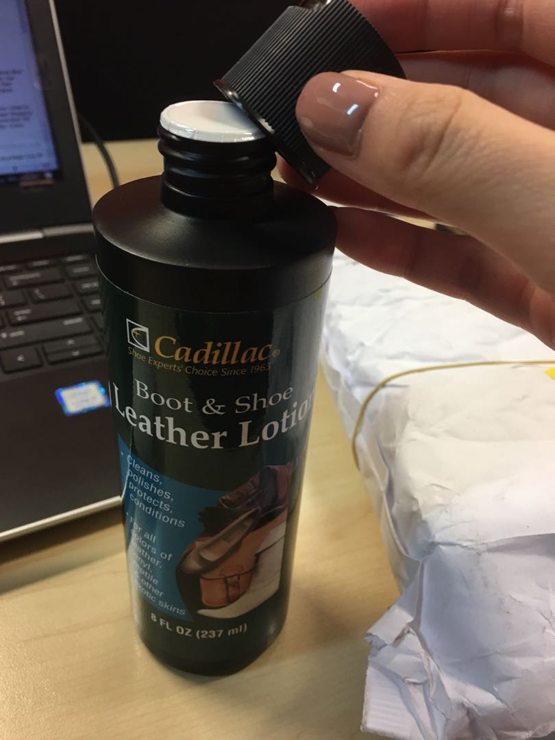Louis Vuitton Leather Bag Cleaner