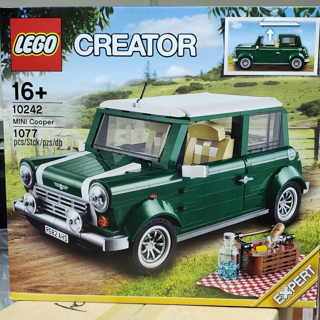 MISB 全新 Lego 10242 Creator 系列 綠色 MINI Cooper (100%靚盒)