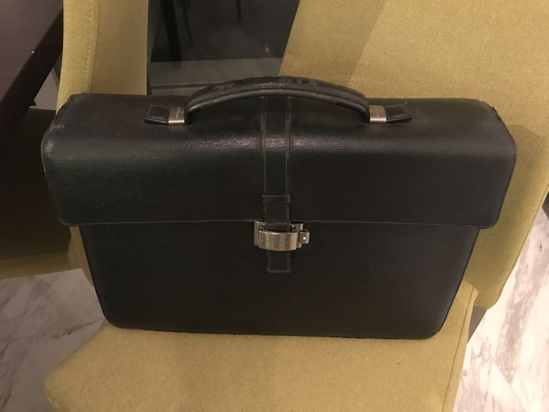 4cadd3d2be Montblanc briefcase, Men's Fashion, Bags & Wallets, Briefcases on ...