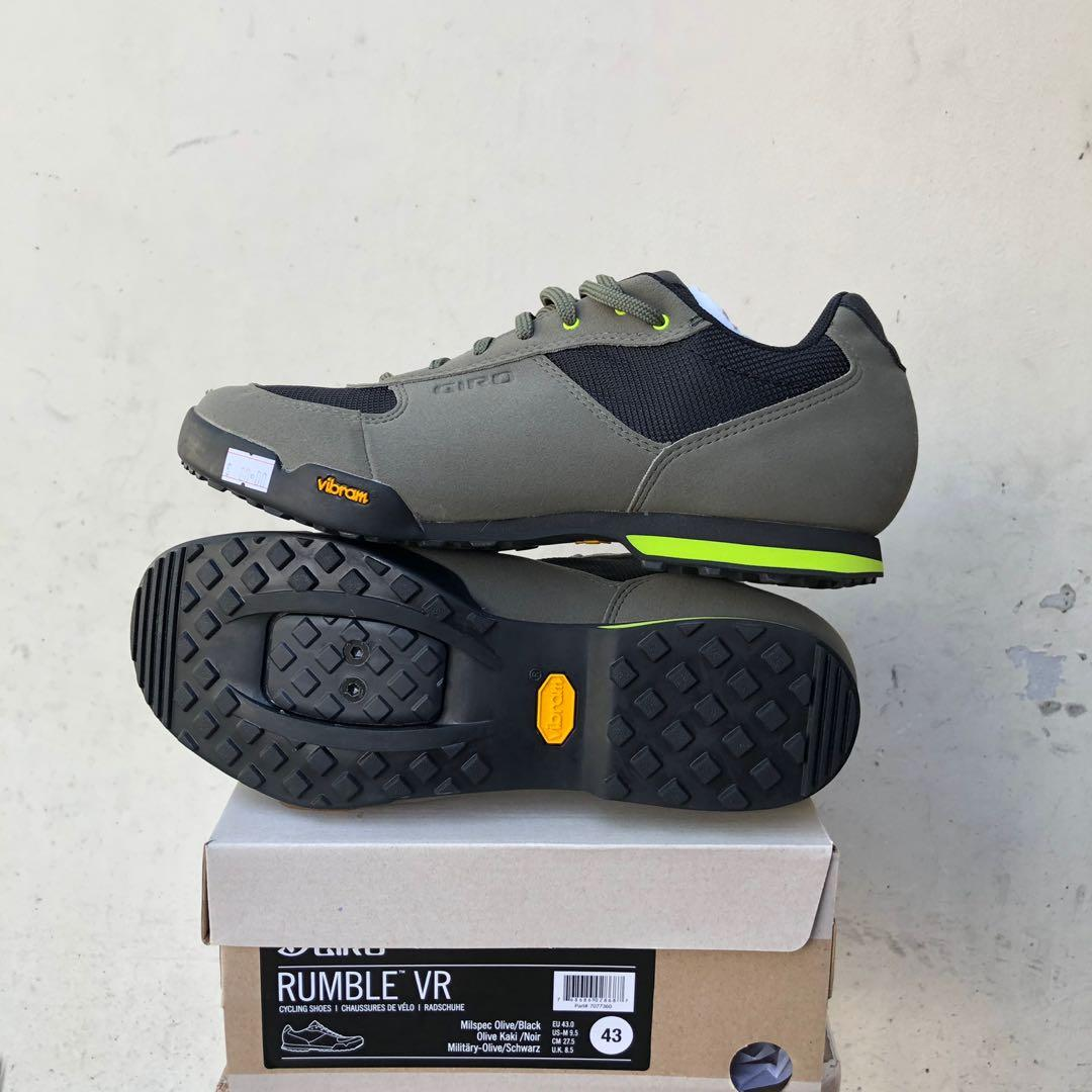 New: Giro Rumble VR MTB SPD Shoes, Men