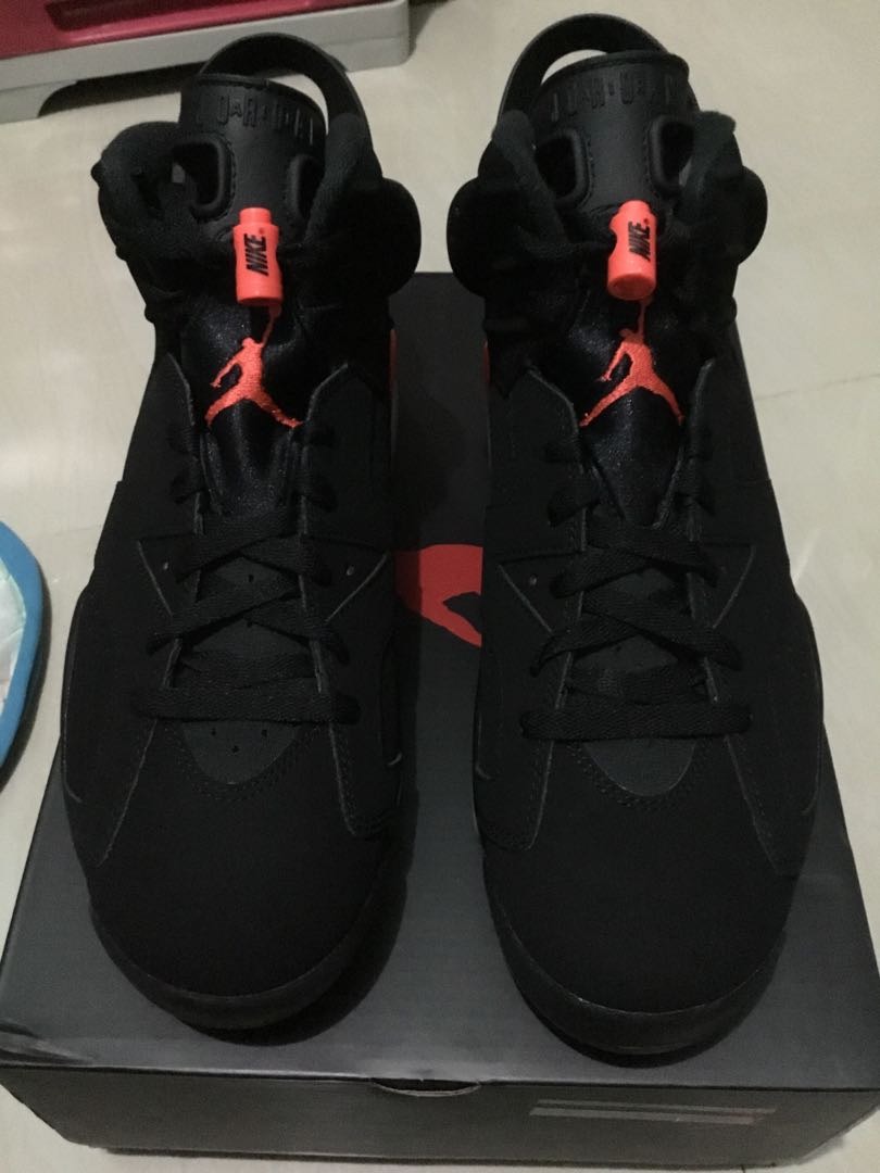buy online 614b2 ac7b5 Nike Air Jordan 6 Infrared OG Size 9.5 FOR SALE ONLY
