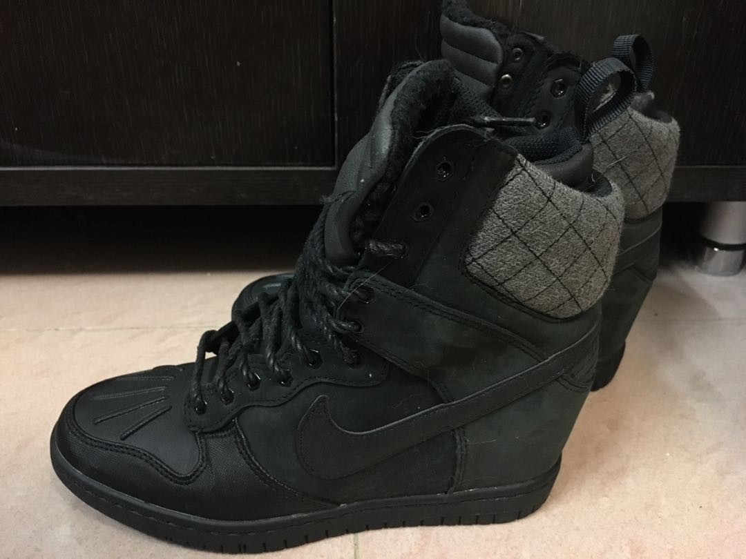 more photos 3f078 e045f Nike dunk high heels