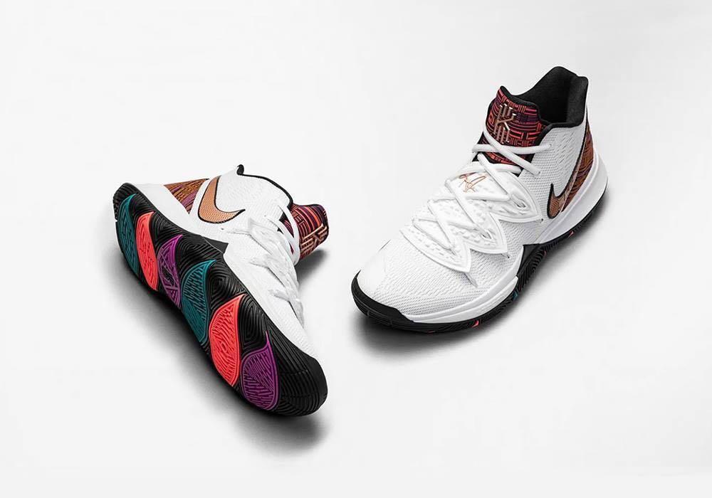 Nike Kyrie 5 BHM, Men's Fashion