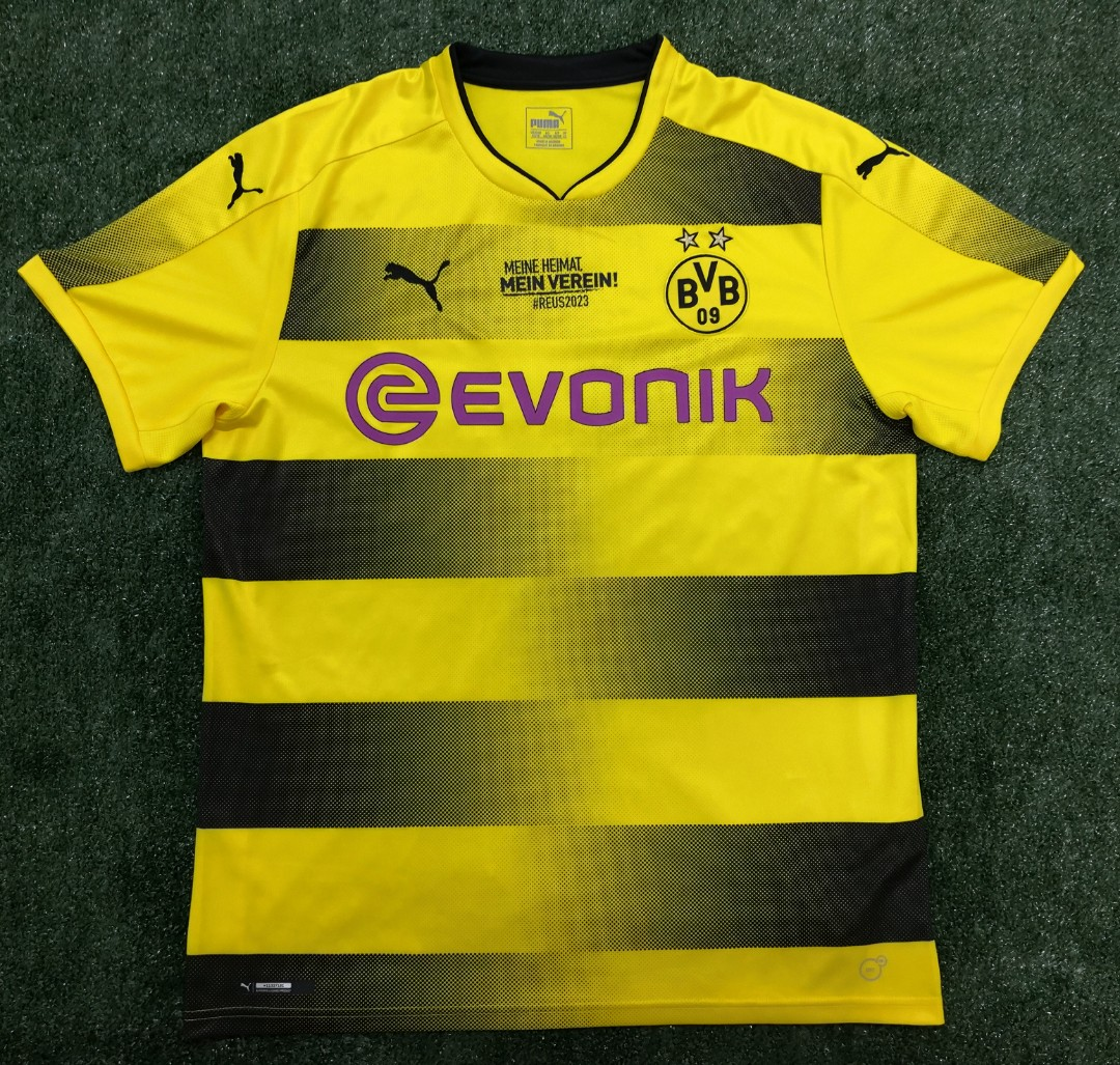 Hombre PUMA BVB Cup Replica with Evonik Logo Without Opel Jersey