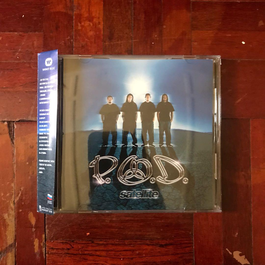 P O D  - Satellite (2001) CD Album