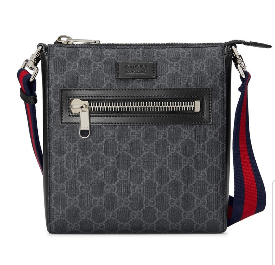14c6c7a03931 Pre Loved Gucci GG Supreme Small Messenger, Luxury, Bags & Wallets ...